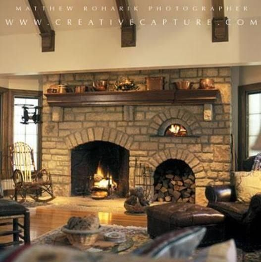 Indoor fireplace with pizza oven | Fireplace cooking, Indoor pizza .