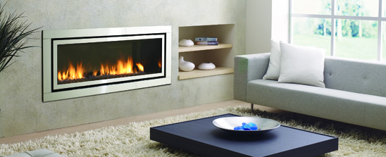 Wood, Gas, Inserts and electric fireplaces by Flame Connection .