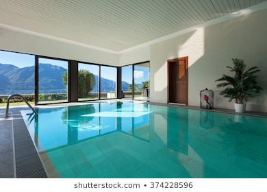 Home+indoor+swimming+pool Stock Photos, Images & Photography .