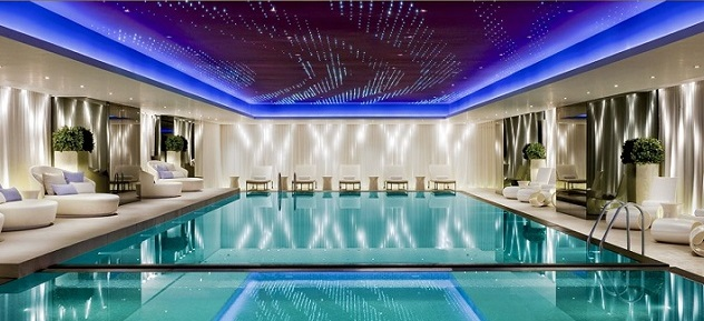 10 Luxury Indoor Swimming Pool Design Ide