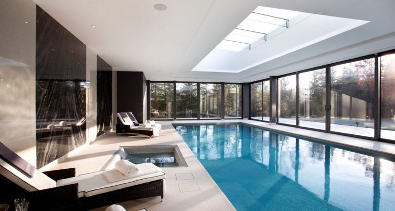 Beautiful Design Swimming Pool Indoor(11) | Swimming pool house .