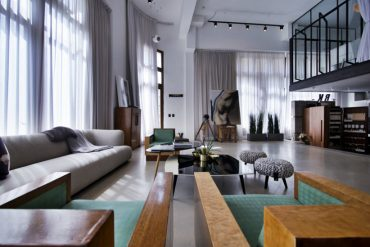 industrial style penthouse | Inspiration & Ideas | DelightFULL .