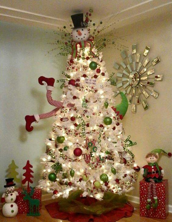 30+ Awesome Christmas Tree Decorating Ideas – Eazy Gl