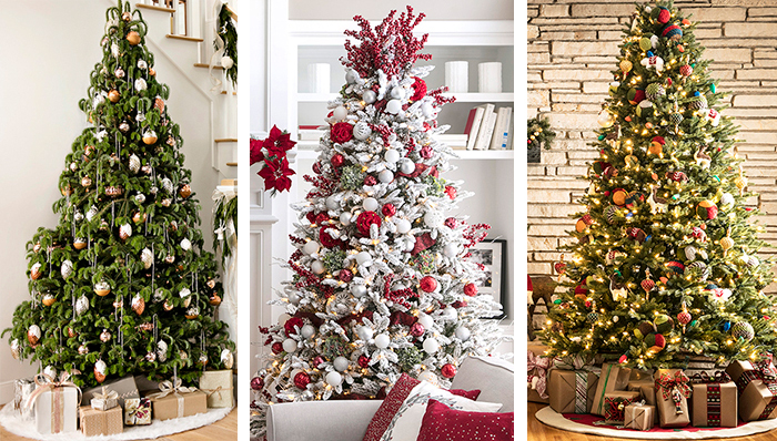 30 'Christmas Tree Decoration' Ideas with Images | Tree Ornaments .