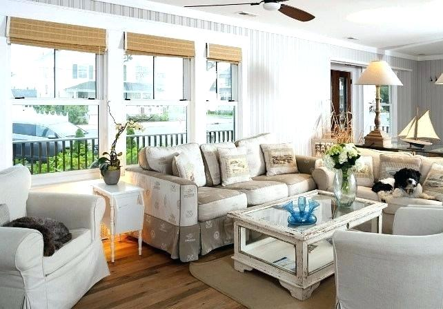 Rustic Beach House Designs Coastal Neutral Furniture And Decor .