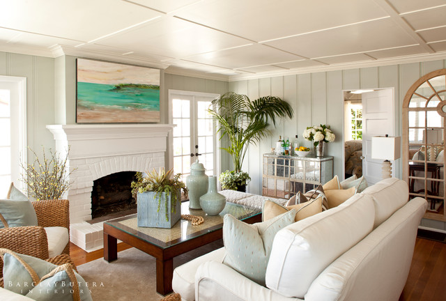 Modern Rustic Beach Cottage | Turnberry Lane - Beach Style .