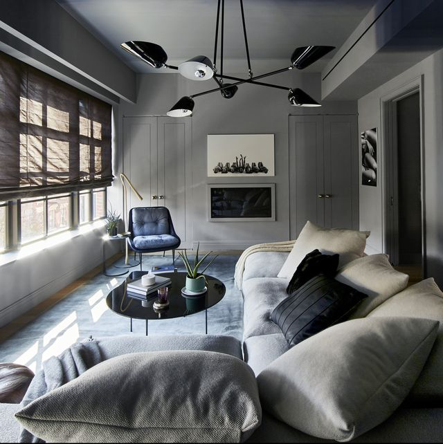 Interior Design with Shade of Dark Grey