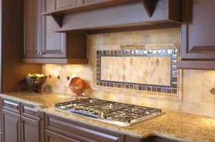 Inspiring Kitchen Backsplash around Chimney with New Concept .