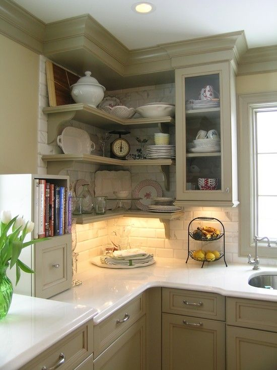 Kitchen Corner Design, Pictures, Remodel, Decor and Ideas - MUST .