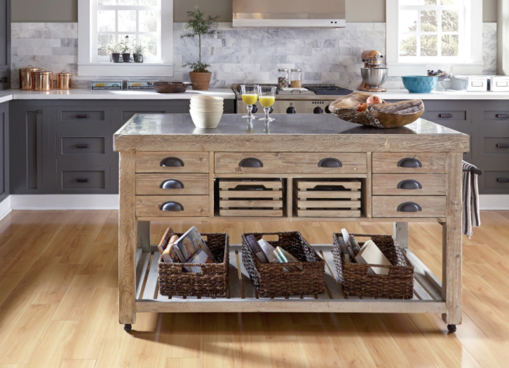 8 portable islands to turn your kitchen into a moveable fea