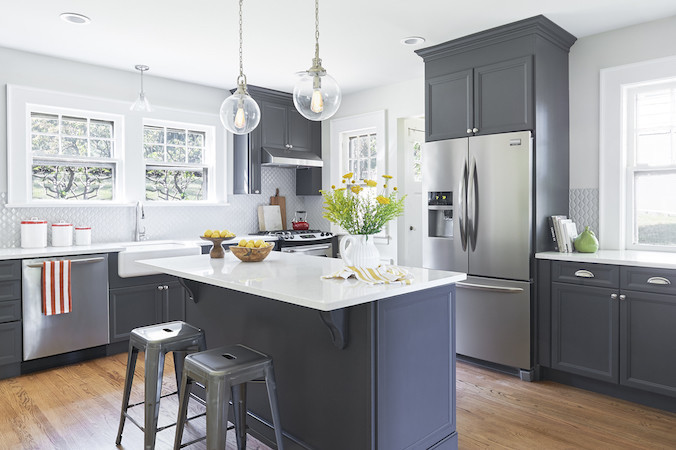 Before & After: A Modern kitchen Remodel | Décor A