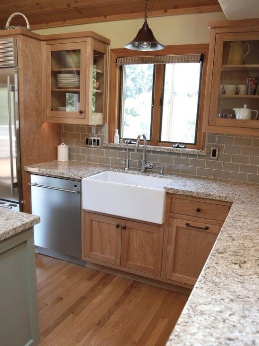 5 MORE Ideas: Update Oak or Wood Cabinets WITHOUT a Drop of Paint .