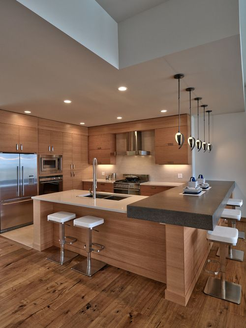 35 Reasons To Choose Luxurious Contemporary Kitchen Design .