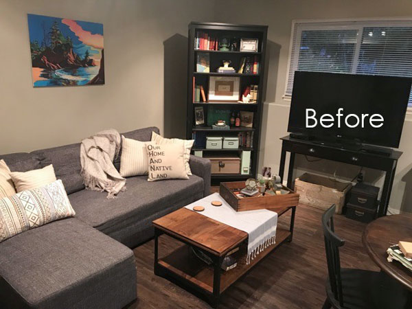 How to Brighten a Dark Living Room the Easy W