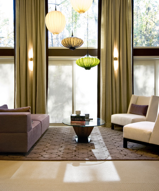 20 Pretty Cool Lighting Ideas for Contemporary Living Ro