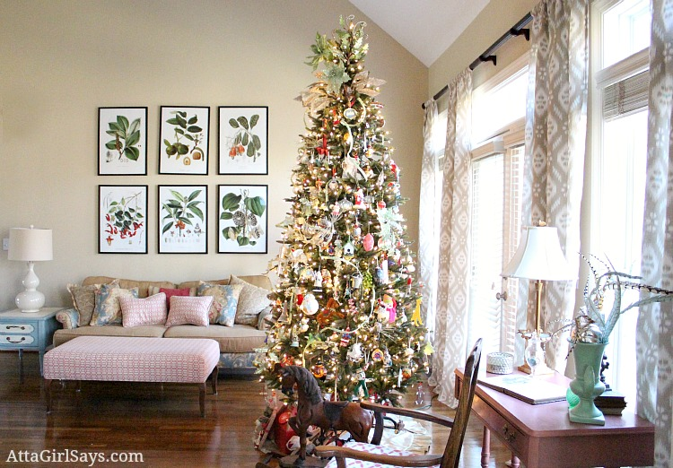 50 Stunning Christmas Decorations For Your Living Room – Starsric