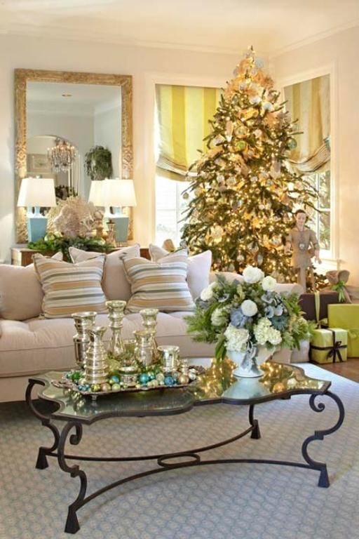30 Christmas Decoration For Living Room Inspirations - Flaws