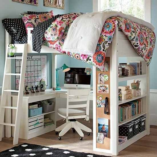 21 Loft Beds in Different Styles, Space Saving Ideas for Small .