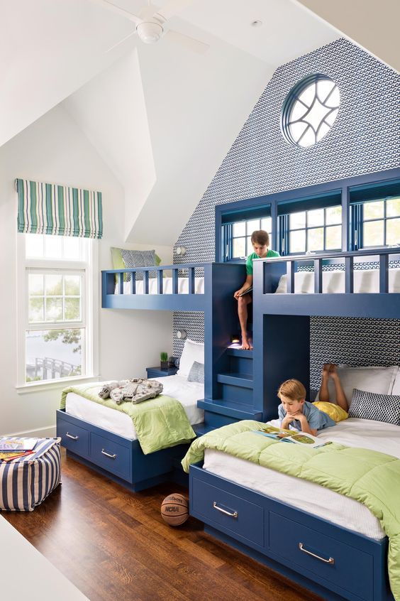 Lovely Bunk Bed Design Ideas For Bedroom