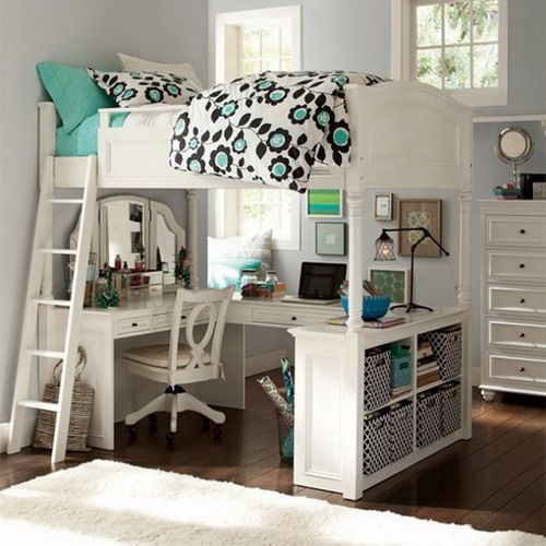 20 Stylish Teenage Girls Bedroom Ideas | Girls bedroom furniture .