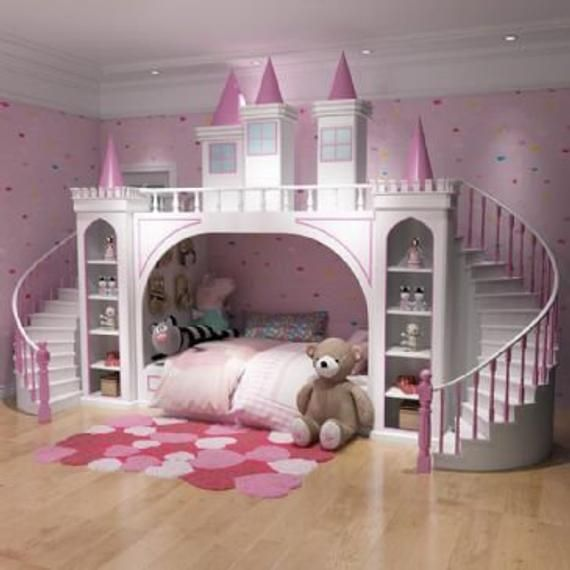 This luxury castle bunk bed is the perfect addition to anyones .