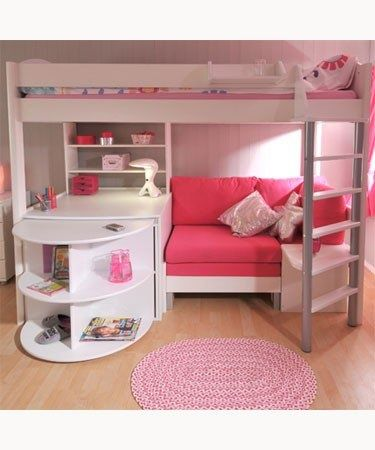 20 Cool Ideas For Decorating a Bedroom Your Kids Will Love | Bed .