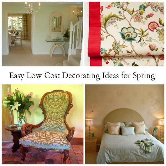 Easy Low Cost Decorating Ideas for Spring - April J Harr