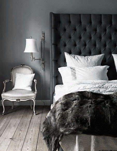 30 Dramatic Bedroom Ideas | Home bedroom, Luxurious bedrooms, Home .