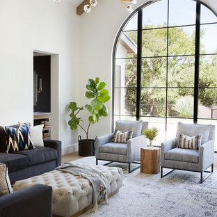 75 Beautiful Mediterranean Living Room Pictures & Ideas | Hou