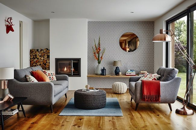 Mid Century Modern Living Room, Enlivening Your Home with New .