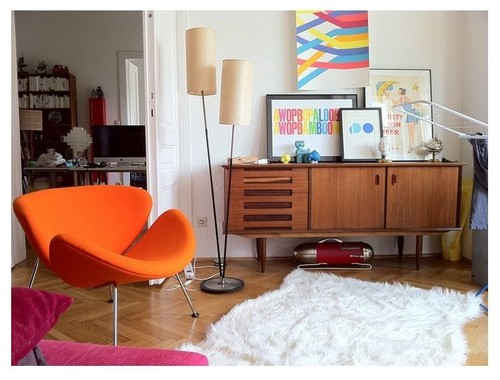 Weekend Design: 5 Color Palettes for a Midcentury Modern Look .