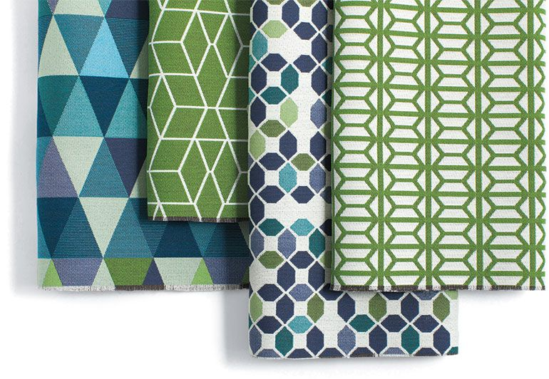 8 Eye-Catching Contract Introductions | Mid century modern fabric .