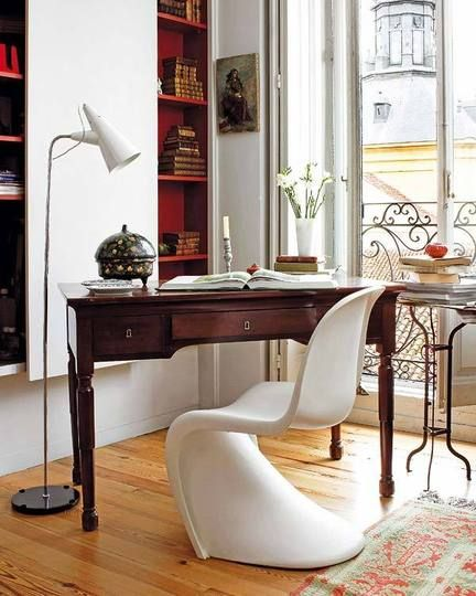 Modern Classics: Verner Panton Chairs | Vintage home offices, Home .