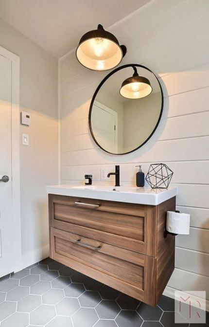 Bathroom ideas brown vanity light fixtures 48+ ideas #bathroom .