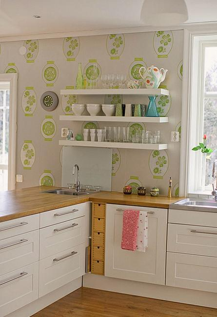 Modern Wallpaper for Small Kitchens, Beautiful Kitchen Design and .