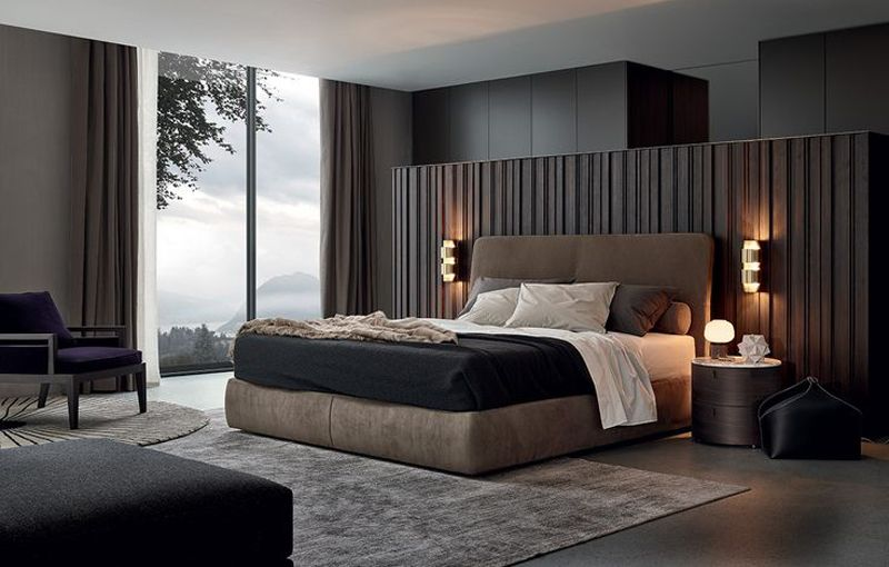 20 Modern Contemporary Masculine Bedroom Designs | Contemporary .