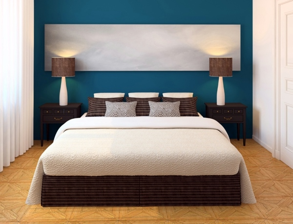 Select bedroom wall color and make a modern feel | Interior Design .