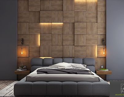 Modern Bedroom Wall Design Ideas