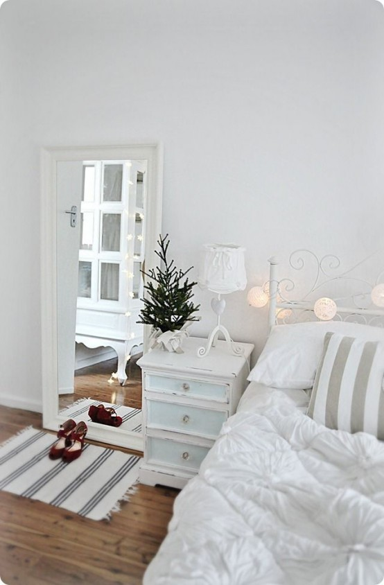 Fantastic Cute Christmas Bed Room Decor Concepts | Dream Home Sty