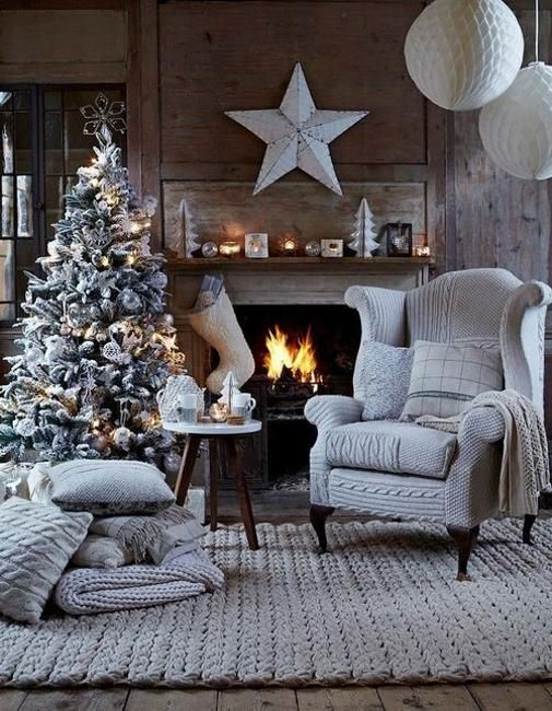 Black and White Christmas Tree Decorating Ideas | Christmas living .