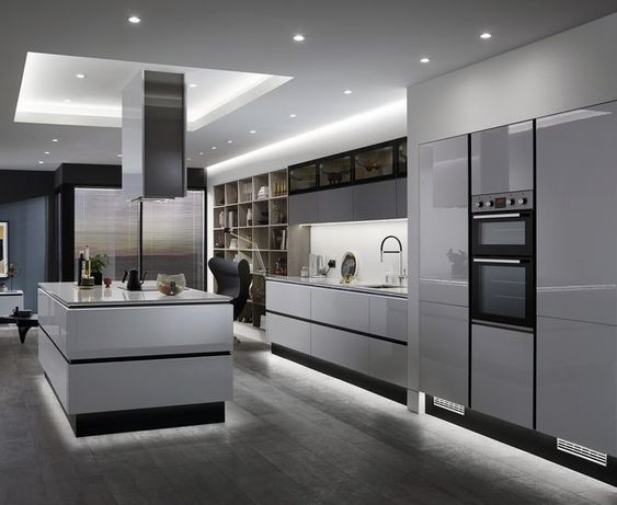 30 Elegant Modern Kitchen Design Ideas And Remodel With Luxury .