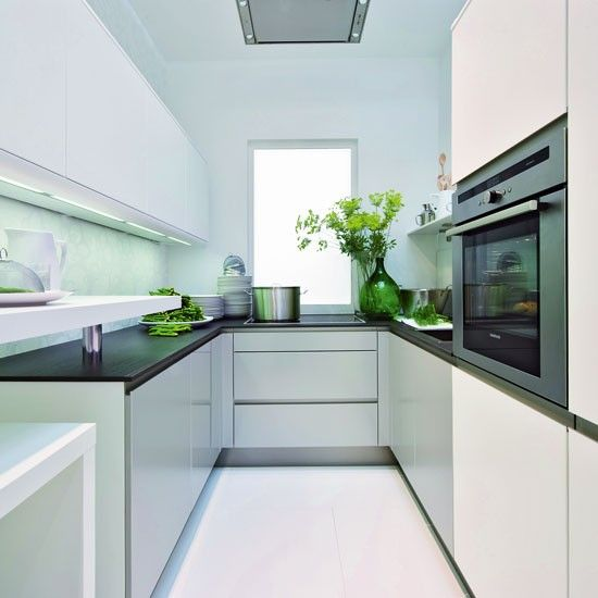 Small kitchen ideas to turn your compact room into a smart space .