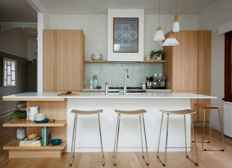 Mid-Century Modern Small Kitchen Design Ideas You'll Want to Steal .