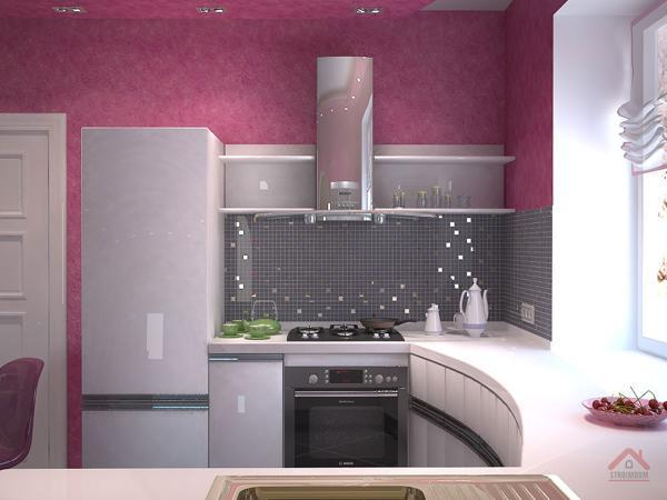 Small Kitchens and Space Saving Ideas to Create Ergonomic Modern .