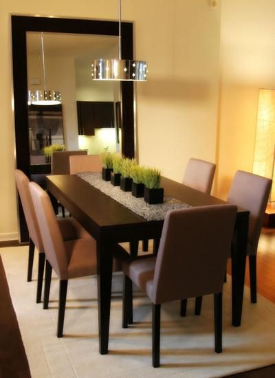 25 Elegant Dining Table Centerpiece Ideas | Dining room table .
