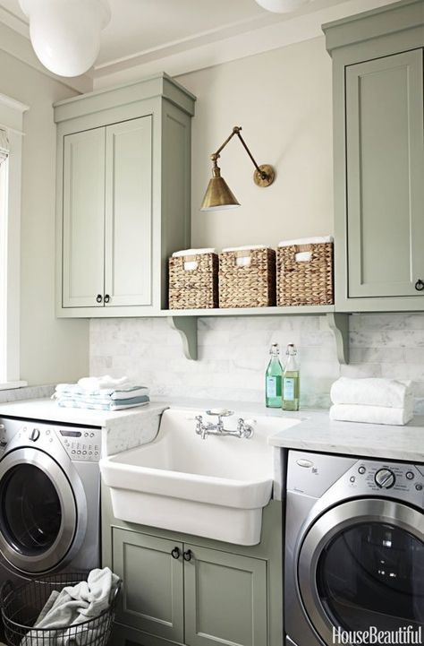 The World's Most Beautiful Laundry Rooms | Laundry room .