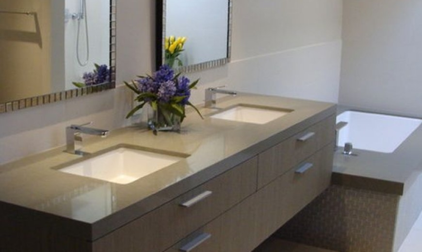 27 Floating Sink Cabinets and Bathroom Vanity Ide