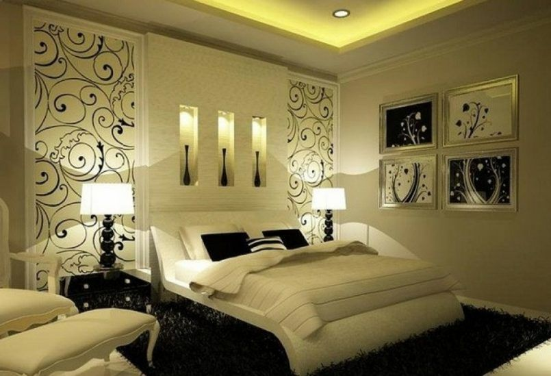 Bedroom Winsome Beautiful Bedroom Designs Romantic As Well As .