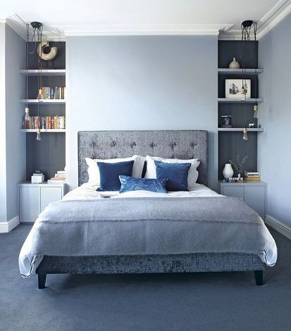 15 Latest & Cute Bedroom Designs For Couples In 2020 | Blue .