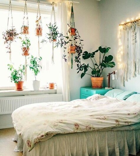Natural Bedroom With Plants Pictures, Photos, and Images for .